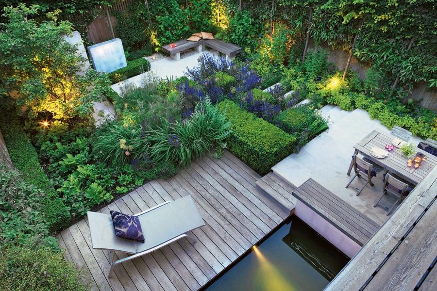 conception et aménagement de jardin, paysagiste, terrasse bois