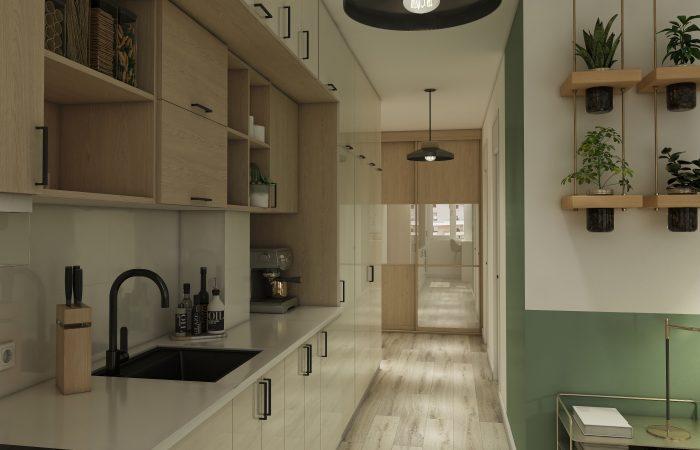 ADKOAT intérieurs appartement aménagement T2